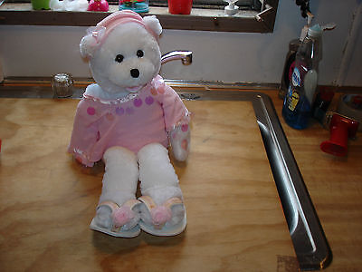 """Chantilly Lane 22""""  Musical Animated Bear~I Hope You Dance~PINK clothes Sandals"""