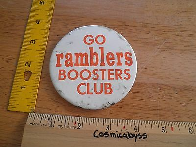 Orange County Ramblers Continental Football League 1968 Booster Club button