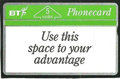 Bti027 Use This Space Mint Bt Phonecard