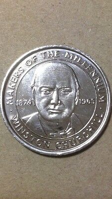 Makers Of The Millenium Coin WINSTON CHURCHILL