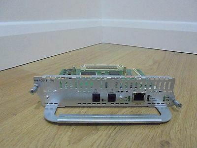 Cisco NM-1CE1T1-PRI Network Module CCNA CCNP CCIE