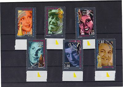 France 1994 - Entertainers Complete Set M.n.h.