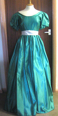 Vintage Evening Dress Bridesmaids  10 12  Prom Stage Costume Ball Gown
