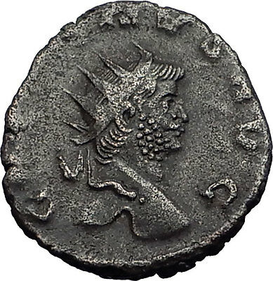 Gallienus Valerian I son Ancient  Roman Coin Security & stability Cult  i58474