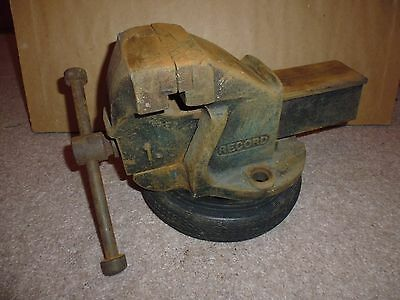 RECORD MODEL No. 1. 3 INCH ENGINEERING BENCH VICE :