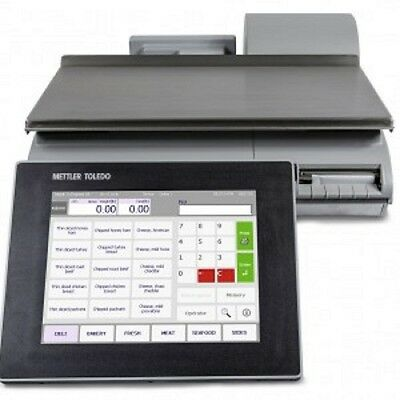 Mettler Toledo Impact M (Pact M) Deli Scale s Printer SMART TOUCH VERY LOW USE