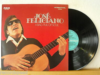 ★★ LP - JOSE FELICIANO - A Bag Full Of Soul - GER RCA INTS 1025 - Record in NM