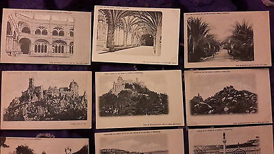 11 x old postcards of Portugal - undivided backs