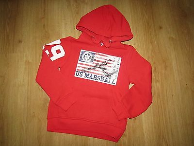 Pull capuche US MARSHALL taille 10 ans comme NEUF