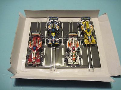Childford ? Artin ?  1/43 slot cars Indy Formula , 1 piece track sealed
