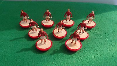 Subbuteo Spare Players Arsenal x 9