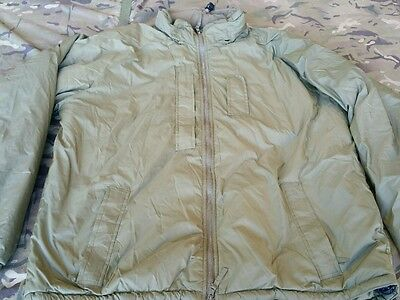 Latest British Army Thermal Softie Cold Weather Jacket Full Zip L ( MTP PCS )