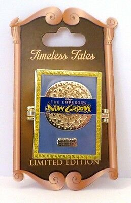 Disney Parks Pin Timeless Tales The Emperors New Groove Limited Edition