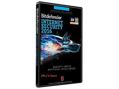 Bitdefender Internet Security 2016 2Pc/2Years - Ready For Activation