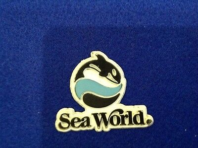Collectable rubber/plastic Sea World fridge magnet