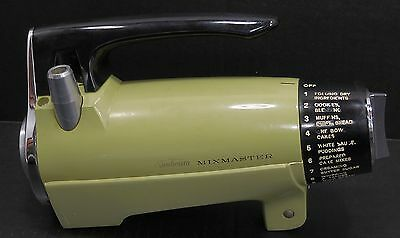 Vtg Sunbeam Mixmaster Stand Mixer Replacement 12 Speed Motor Green MMA 5457