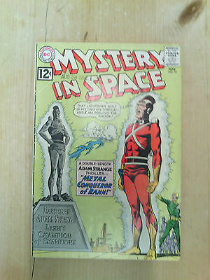 Mystery In Space No 79 1962  Adam Strange. 12 Cents Cover Price With A Inked Arr