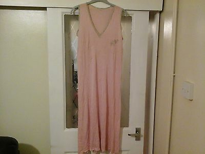 Ladies Vintage Nightdress Approx Size 12 To 14 Collectable