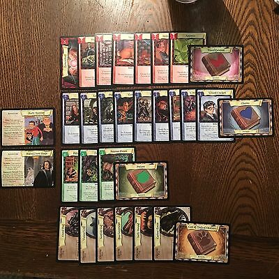 Harry Potter Trading Card Game LOT - NO Duplicates / Snape