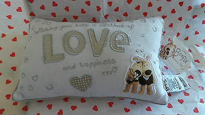 Boofle Wedding Gift ~ Cushion/Pillow ~ New/Tag