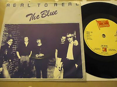"Rare Uk Vinyl 7"" Real To Real The Blue Reds006 Alan Wilder Pre Depeceche Mode !"