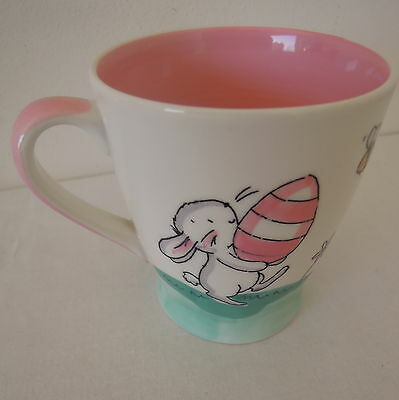 Whittard of Chelsea Small Size Easter Mug Rabbit Pattern Dated 2007