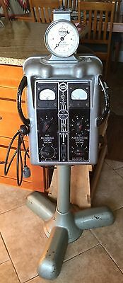 Antique Atomic Age 1938 HG Fisher X-ray Electro Syncrotimer Medical Machine