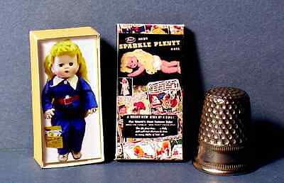 Dollhouse Miniature Sparkle Plenty Doll Box retro dollhouse girl toy  1:12 scale