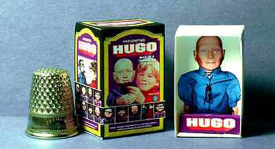 Dollhouse Miniature   Hugo Man of 1000 Faces Toy Box  1970s dollhouse toy 1:12