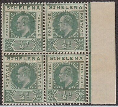 Kappysstamps Id7860 St Helena 48 Bk/4 Mint Nh Never Hinged Block