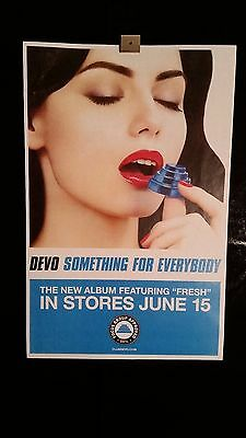 Devo Something For Everybody Record Store Day Poster