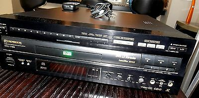 Pioneer DVD Laserdisc CD Player DVL-V888 Black w/ Remote, PowerCord