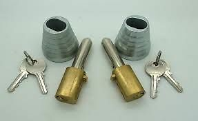 Roller shutter bullet locks and housings. Fitting service North West & Yorkshire