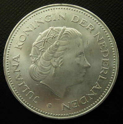 Netherlands 1970 Silver 10 Gulden UNC 25th Anniversary of Liberation