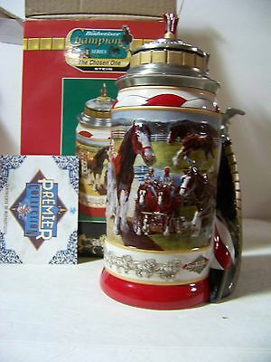 Budweiser CS 505 The Chosen one Lidded Stein In Box COA