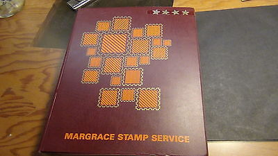 WW stamp collection in Margrave Swiss album w/ 2500