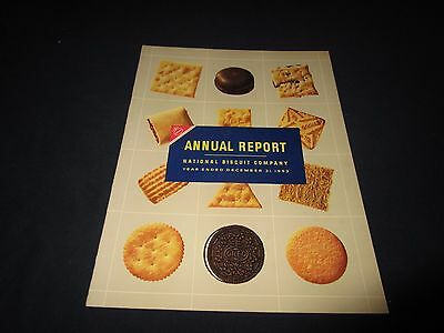 National Biscuit Company-Nabisco-1953 Annual Report Booklet
