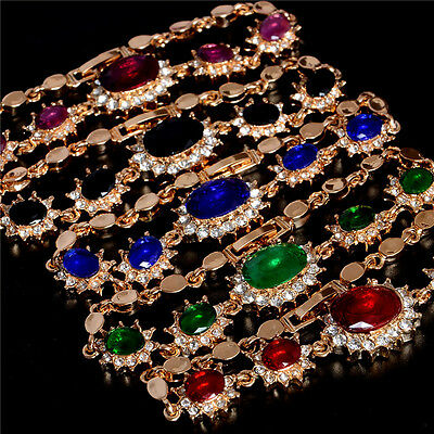 New Arrival Fashion Gold Plated Austrian Crystal Women Bracelet Gift