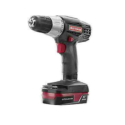 NEW IN BOX Craftsman C3 19.2-Volt Lithium-Ion 3/8-in. Drill/Driver Kit