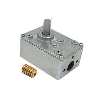 58*40mm Worm Wheel and Worm Motor Speed Reduction Gear Box Motor Speed Reducer