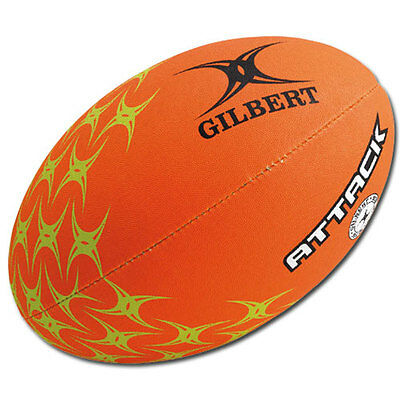 Gilbert ATTACK Rugby Ball - Orange
