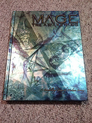Mage The Awakening Hardbound White Wolf World Of Darkness WW40000