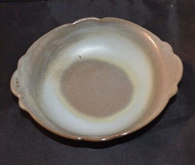 Vintage Frankoma Under Bowl -small  WOODLAND MOSS - 40B