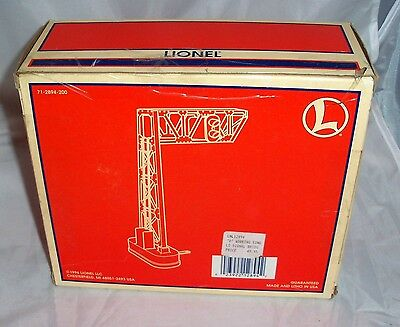 Lionel #452 'o' Operating Signal Bridge #6-12894 Nib