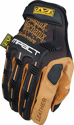 Mechanix Wear MPACT M-PACT Gloves LEATHER LARGE (10)