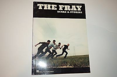 The Fray Scars & Stories Sheet Music Piano Vocal Guitar SongBook NEW 000307591