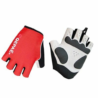 Lerway Half Finger Fingerless Short Bicycle Bike Cycling Gloves breathable