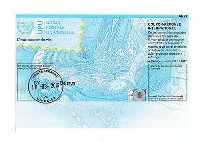 Belarus, Weißrussland, Reply Coupon, Coupon Reponse