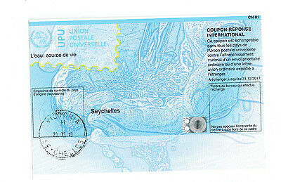 Seychelles, Seychellen, Reply Coupon, Coupon Reponse