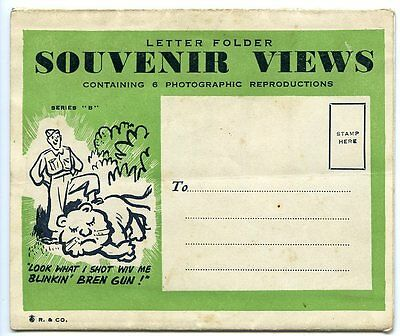 SOUTH AFRICA, DURBAN, Lettercard, 6 Views, Probably for Soldiers (see front)